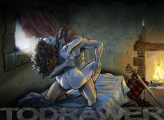 outlander+jamie+art | Outlander Jamie And Claire | Obsessed with Outlander! / Jamie and ...