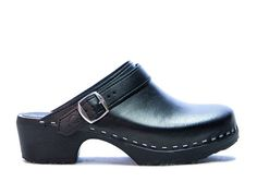 Elsie Comfort  Low Heel  Fine Leather  Sandgrens by Sandgrens