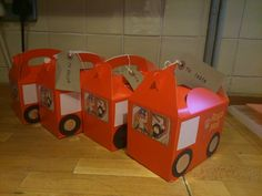 Postman Pat party boxes