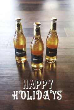 Happy Holidays! <3 Strongbow Cider
