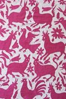 Mexican Coverlets-Fusia