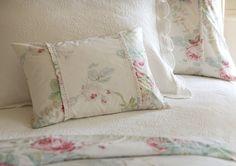 Shore Rose Cream Pillows & Shams