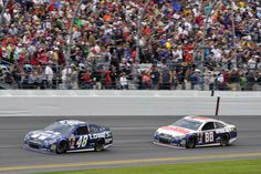 Jimmie Johnson won the Daytona 500 followed by Dale Earnhardt Jr.