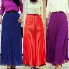 How To Wear Maxi Skirts With Blouses