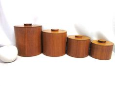 Lidded boxes - era Quistgaard.