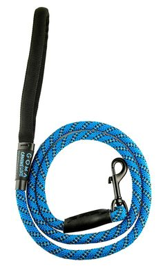 GOMA INDUSTRIES soft reflective Dog Leash- Quality bright nylon increased safety for night walking - perfect for Medium and Large breeds - ergonomic anti-slip grip made with mountain climbing material * You can find more details by visiting the image link.