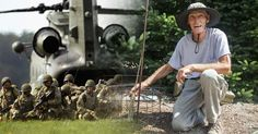An 81-year-old cancer patient's organic garden was the subject of a military…