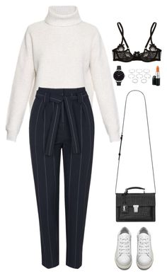 """Untitled #958"" by romane-inspiration ❤ liked on Polyvore featuring Proenza Schouler, Topshop, Olivia Burton, Agent Provocateur, Forever 21, MAC Cosmetics, Acne Studios, Yves Saint Laurent, women's clothing and women"