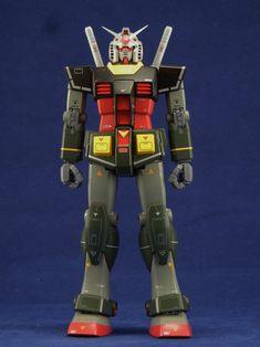 MG RX-78-2 Gundam Ver.2.0 Real Type Color: Painted Build. Big Size Images | GUNJAP