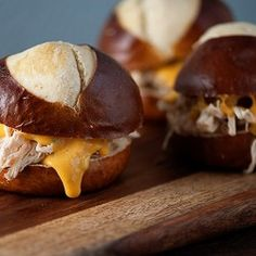 chicken sandwiches with beer cheese