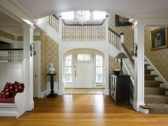 Welcome Home: Entries & Foyers ideas and design with 54 photos by Anne Reagan | Porch