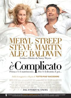 Directed by Nancy Meyers. With Meryl Streep, Steve Martin, Alec Baldwin, John Krasinski. When attending their son& college graduation, a couple reignite the spark in their relationship. But the complicated fact is they& divorced and he& remarried. Alec Baldwin, Steve Martin, John Krasinski, Chick Flicks, Funny Movies, Great Movies, It's Funny, Funniest Movies, Freaking Hilarious