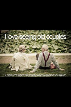 Old couples love .!!!