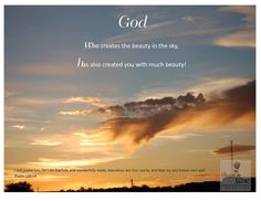 I will praise You, for I am fearfully and wonderfully made; marvelous are Your works, and that my soul knows very well.