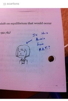 When your teacher is low-key awesome Armin, Levi X Eren, Mikasa, Aot Memes, Funny Memes, Hilarious, Attack On Titan Funny, Attack On Titan Anime, Ereri
