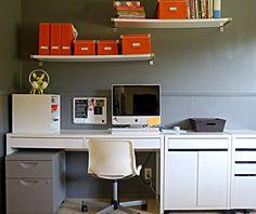 Organized desk= sick mind frommyorangedesk.blogspot.com