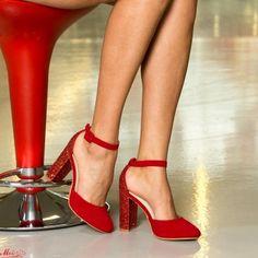 Pantofi cu Toc XKK151 Red Mei Stiletto Heels, Pumps, Shoes, Fashion, Moda, Zapatos, Shoes Outlet, La Mode, Pump Shoes