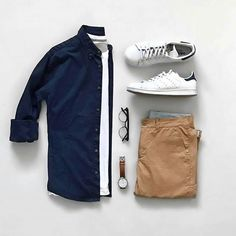 Pin by kero gayed on men's fashion in 2019 haine bărbați, ți Casual Wear, Casual Outfits, Men Casual, Fashion Outfits, Fashion Tips, Men's Outfits, Casual Styles, Trajes Business Casual, Outfit Grid