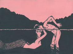 dilated pupils. via Tumblr #art #mermaid #photooftheday #F4F #random #L4L #followback