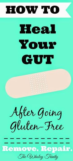 People with gluten intolerance and sensitives may still not feel 100% better after going gluten-free. Why? Because your gut still needs time to heal after of the abuse felt by that bully gluten. Here are some ways to help your gut in the healing process.