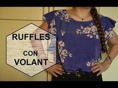 RUFFLES blouse  - blusa con VOLANT    [TUTORIAL]