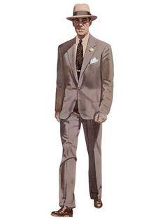 1958 Men's Neapolitan suit