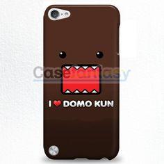 I Love Domo Kun College iPod Touch 5 Case | casefantasy