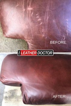 This badly scratched Aniline leather backrest that was damaged in a recent move. Luckily, The Leather Doctor Booroondara Manningham Banyule Whittlesea was able to help make it look like new again! Leather Repair, Leather Cleaning, Free Quotes, Finding Yourself, Soul Searching