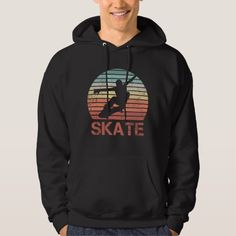 #retro #hoodie #ad Skate Hoodies, Sweatshirts, Retro Shirts, Sweaters, Shopping, Fashion, Moda, Fashion Styles, Trainers