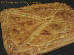 Empanada gallega de carne- Don't have my recipe from Javier and Susana, so I'll have to try this instead!