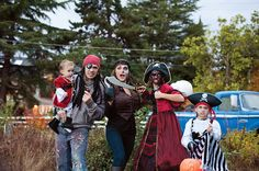 We love @Carolyn Kipper's #Halloween costumes that she found at #ValueVillage!