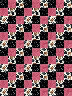 Kitty Cats n Paws Pre-Cut Quilt Blocks Kit from Quilt Kit Shop