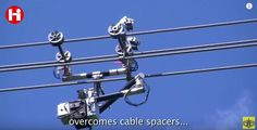 Mola: Así funciona un robot capaz de supervisar las lineas de alta tensión en Rusia