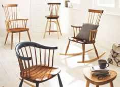 Stick Back Windsor Dining Chair