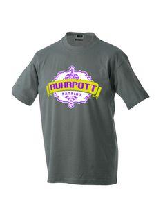 RUHRPOTT PATRIOT T-Shirt | ruhrpottmerch.de #tshirt #tee #shirt #t-shirt #ruhrpott