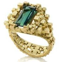 pixelated ring...