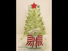 Christmas Tree Card In A Box Stampin Up UK - part 2 - YouTube