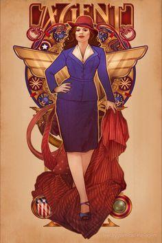 Art: Megan Lara - Agent Carter