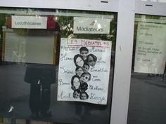 Os mediadores de conflito. Quer ideia melhor? Escola pública num subúrbio de Paris!