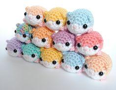 Amigurumi Häkeln-Plüsch-Hamster - wählen Sie Ihre eigenen niedlichen Pastell Hamster - kundenspezifisch konfektioniert