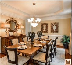 Dining ideas on pinterest dining rooms round dining for Jones design company dining room