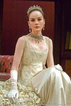 Michelle Dockery as Eliza Dolitte - Pygmalion onstage, 2008