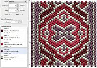Click on patterns at the site for more patterns Beading: Peyote Stitch Pattern 13