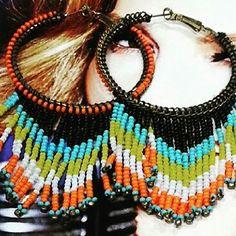 Hippie chic. #Earrings