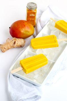 Anti-Inflammatory Turmeric Mango Popsicles FoodBlogs.com