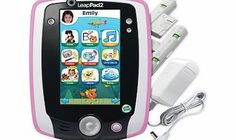 LeapFrog LeapPad 2 Power Pink Combine gaming and education with this extraordinary LeapFrog LeapPad 2 in a cute pink finish keeping your child entertained for hours. This multifunctional learning tablet features the next generatio http://www.comparestoreprices.co.uk/educational-toys/leapfrog-leappad-2-power-pink.asp