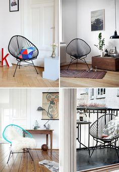 I love Acapulco chairs!