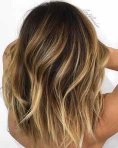 """Balayage love by Lo Wheeler ❤️ Real talk- I'm eating a chocolate bar in bed…"