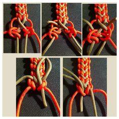 Survival Bracelet tutorial DIY