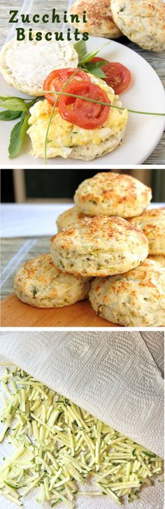 Got too much zucchini? Of course you do. Zucchini biscuits with basil and parmesan are a nice change from zucchini bread. Get the easy recipe with lots of how to photos